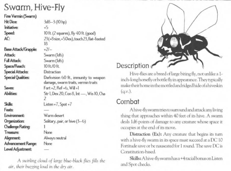 hive-mind-fly-swarm-creature-collection-iii-savage-bestiary