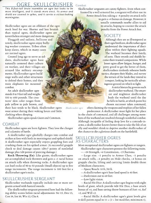 322 ogre anatomy foxhugh superpowers list rh foxsuperpowerlist com d d 3 5 monster manual 2 pdf 1st Edition Monster Manual Art