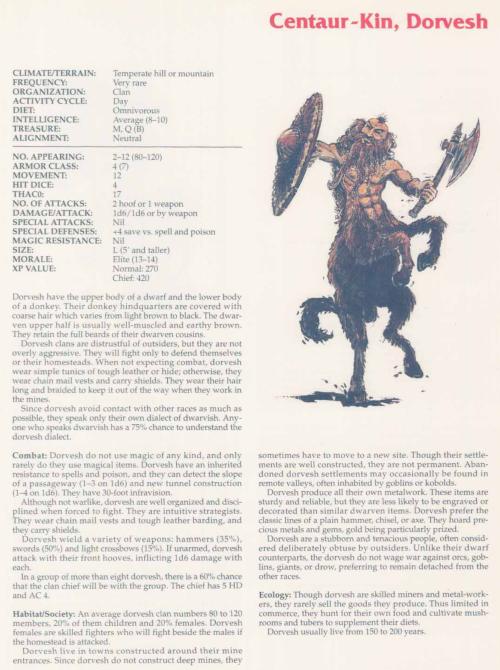 centaur-mimicry-dorvesh-tsr-2158-monstrous-compendium-annual-volume-2