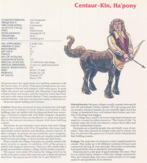 centaur-mimicry-haponies-tsr-2158-monstrous-compendium-annual-volume-2
