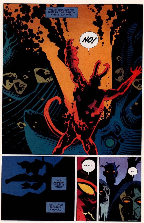 Hellboy Horns Grow